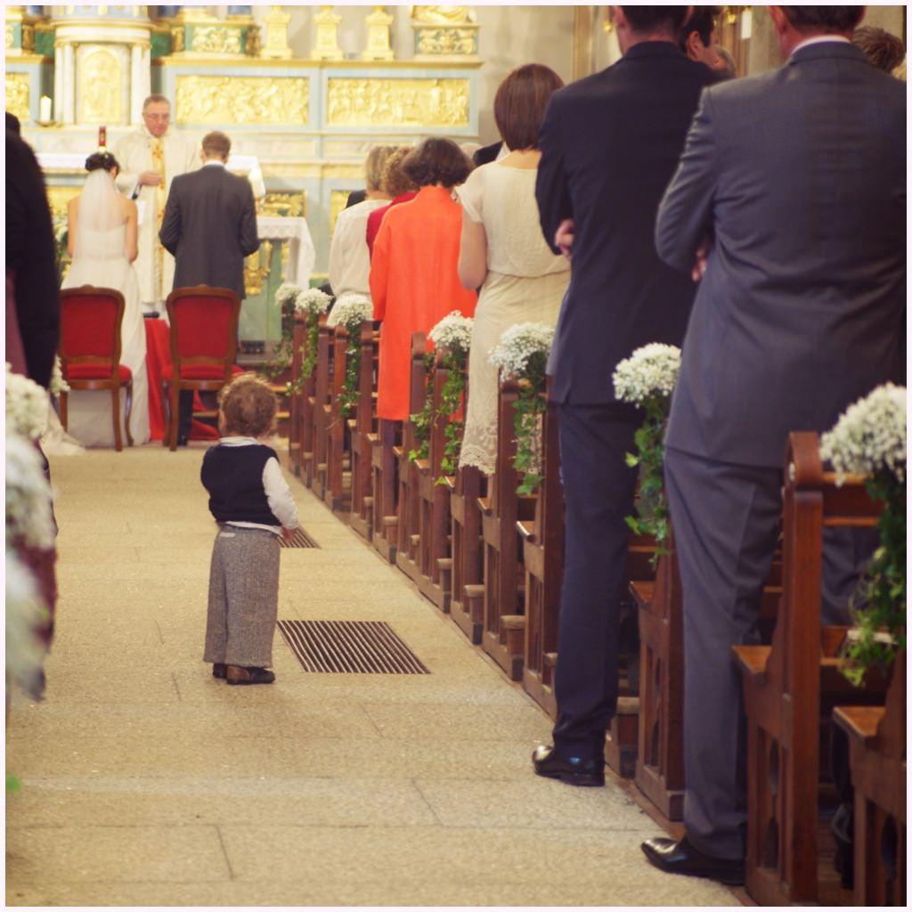 cérémonie religieuse église de chamonix photographe de mariage