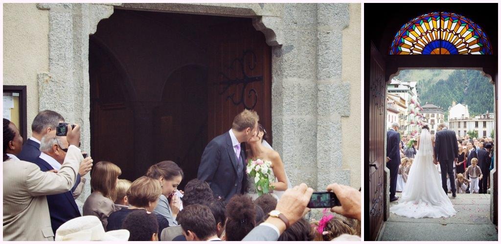 sortie d'église photographe mariage