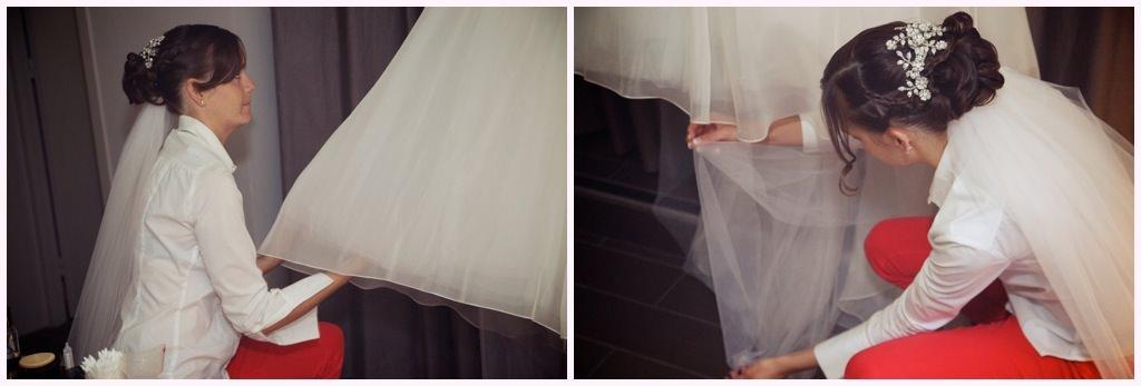 photographe mariage préparatifs de la mariée robe de mariée