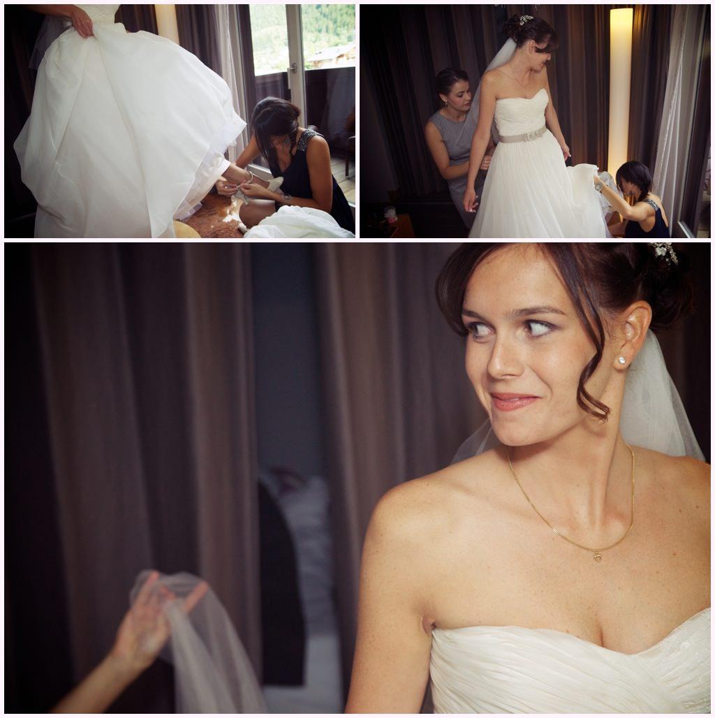 photographe mariage préparatifs de la mariée habillage mariée