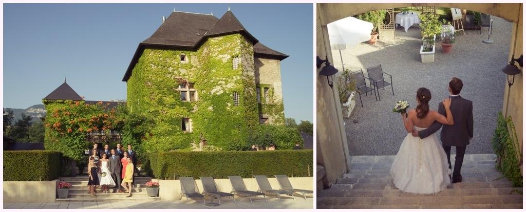 photographe mariage photos de couple chambery chateau de candie - Chateau De Candie Mariage