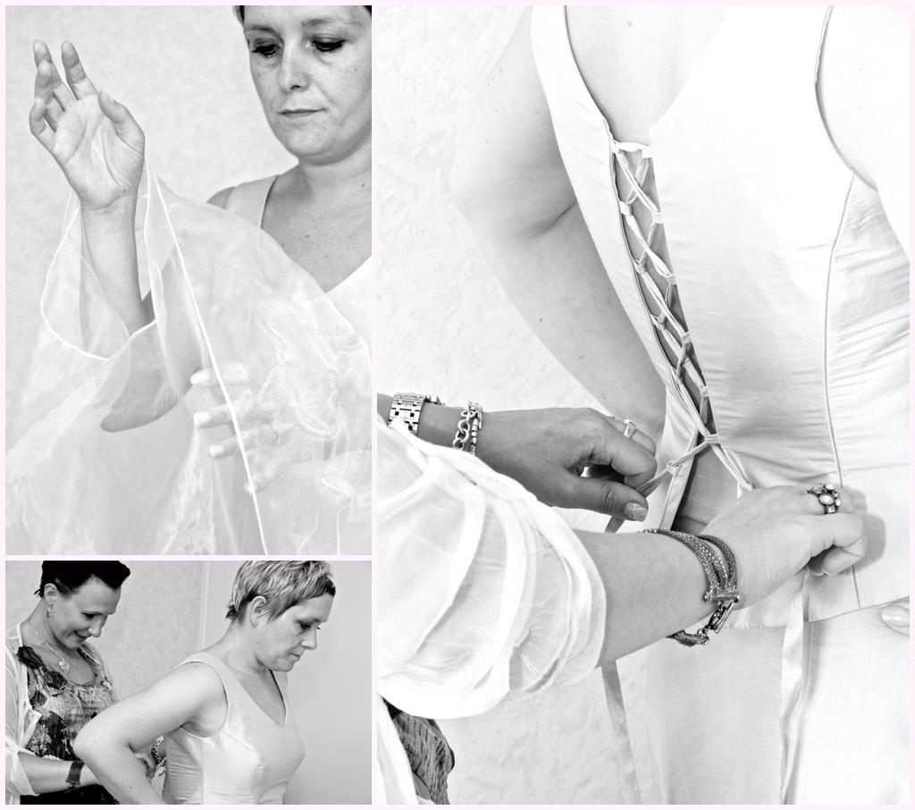 photo mariage chambery préparatifs habillage