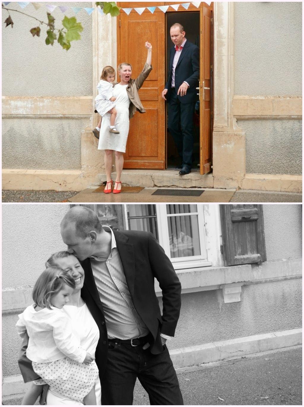 photographe mariage grenoble cérémonie civile sortie mairie
