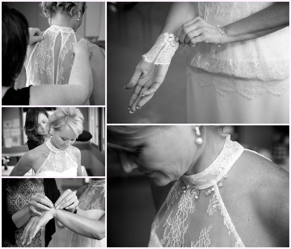 photographe mariage grenoble chambery préparatifs habillage robe mariée dentelle