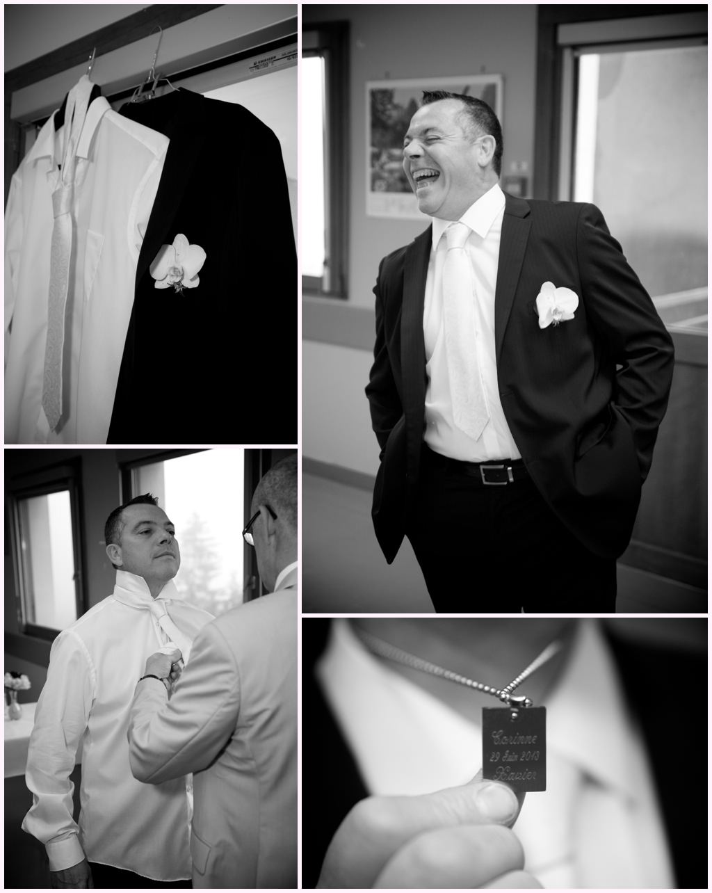 photographe mariage grenoble chambery préparatifs habillage