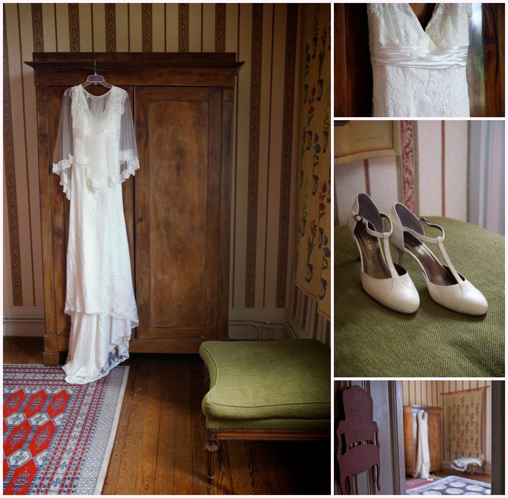 photographe mariage beaujolais préparatifs mariée habillage