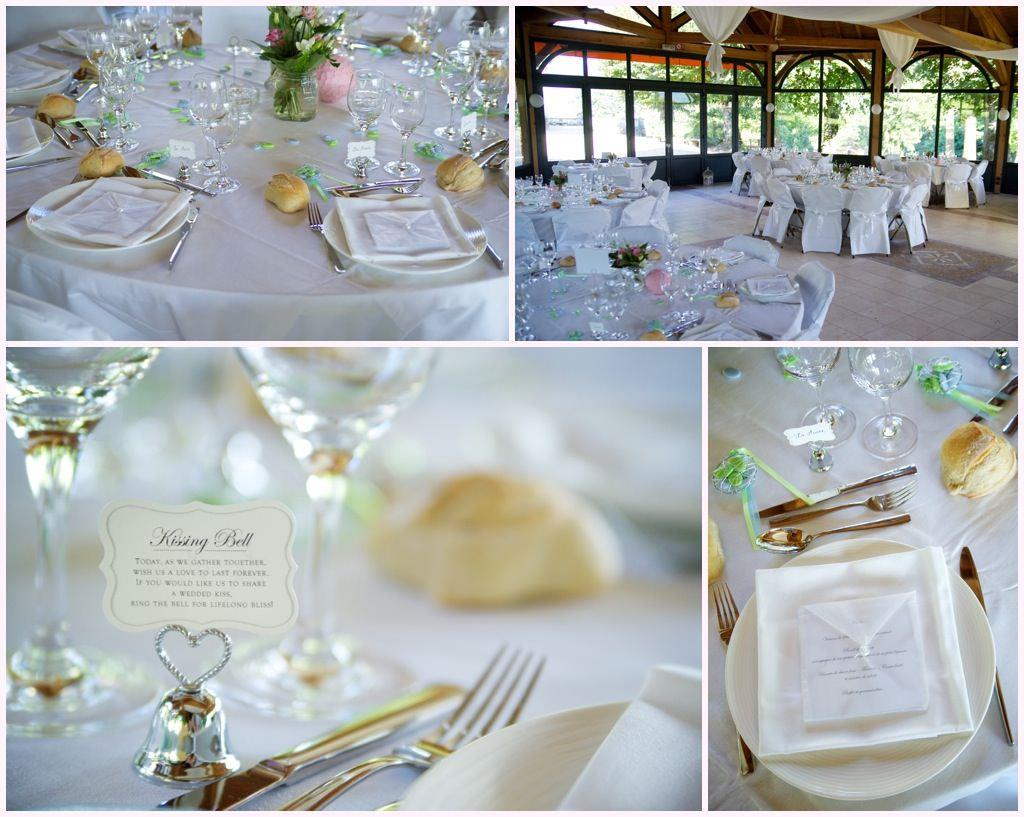photographe mariage beaujolais chateau verbust deco mariage vert et blanc kissing bell
