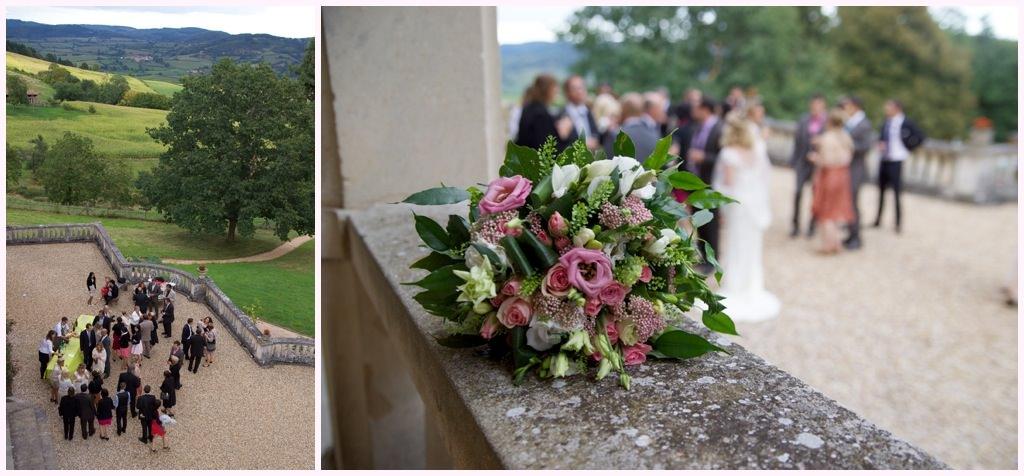 photographe mariage beaujolais chateau verbust vin dhonneur