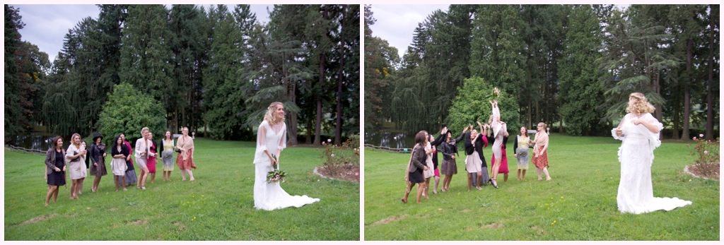 photographe mariage beaujolais chateau verbust vin dhonneur lancer de bouquet