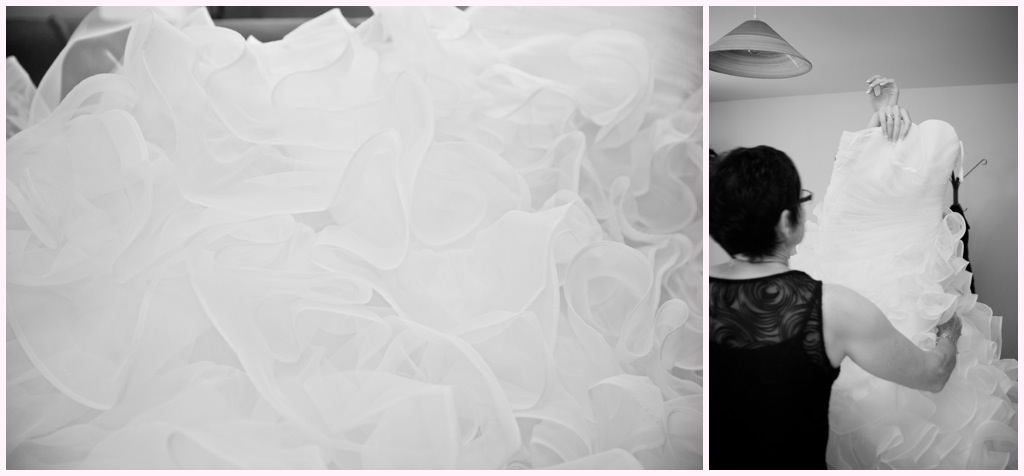 photo_mariage_allevard_habillage mariée noir et blanc