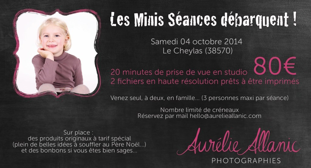 mini seance photo studio portrait enfant