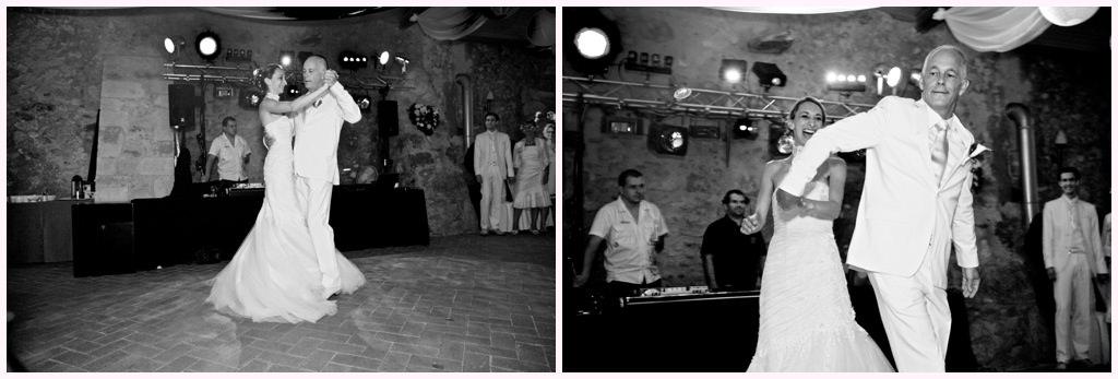 photos soirée mariage chic en blanc château de montalieu saint vincent de mercuze premier danse