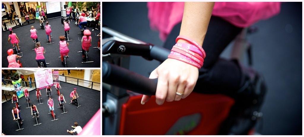 rouler pour elles ruban de l'espoir octobre rose