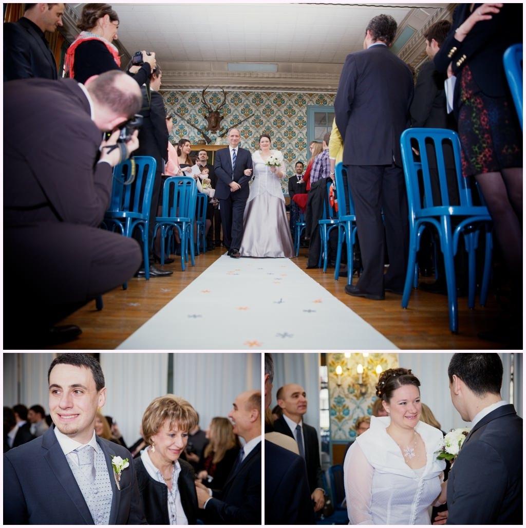 photographe mariage grand hotel paris lans en vercors mariage d'hiver cérémonie laïque