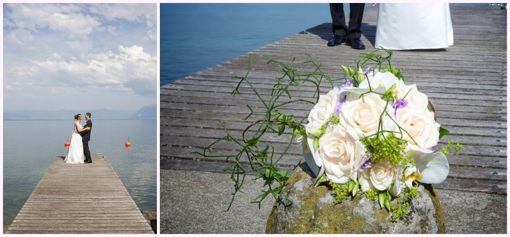 photographe mariage lausanne suisse geneve photo mariage au bord du lac leman