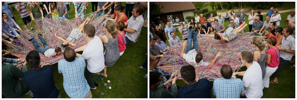 animation mariage pelotes de laine la chapelle de guinchay