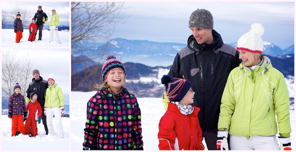 seance photo en famille dans la neige beloved sept laux prapoutel
