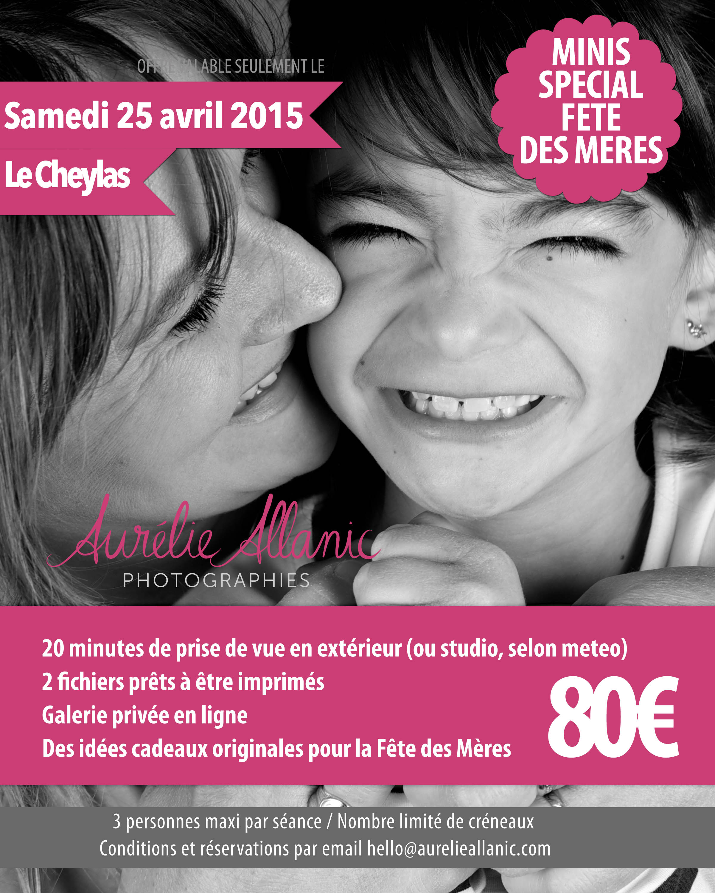 Mini seance photo fete des meres photographe grenoble photographe chambery