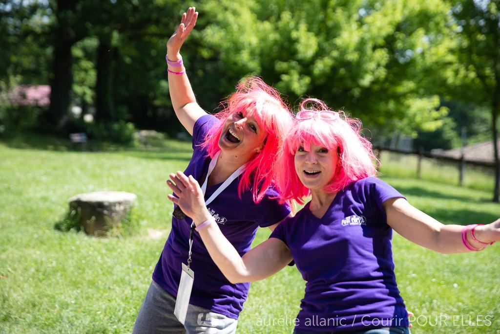 Courir POUR ELLES 2015  bénévoles