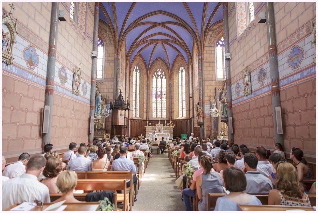 mariage chambery église barberaz entrée de la mariée émotion