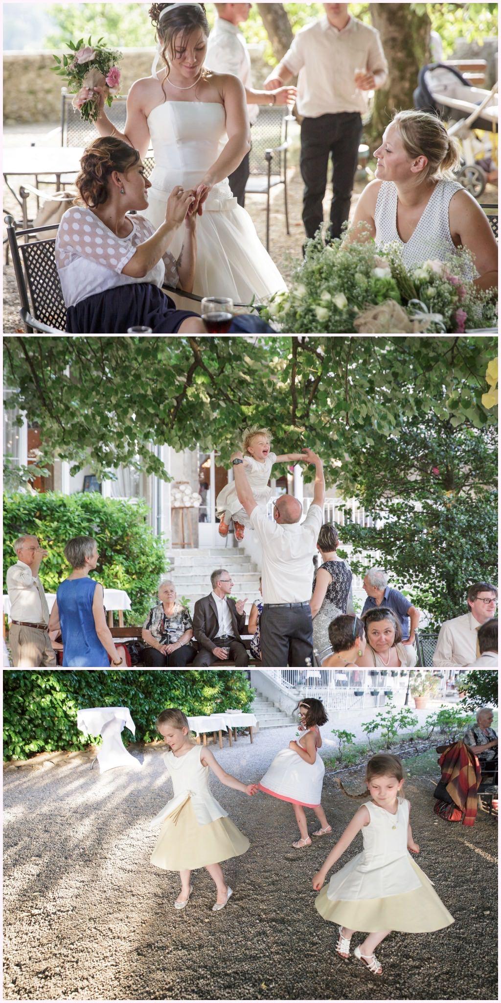 mariage château comtes de challes vin d'honneur photographe mariage chambery