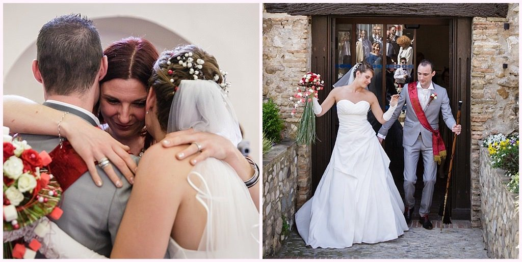 photographe mariage provence sortie mairie cagnes sur mer