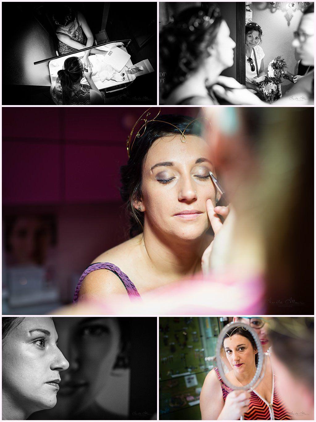 maquillage mariée préparatifs mariage medieval en costume photographe mariage aurelie allanic