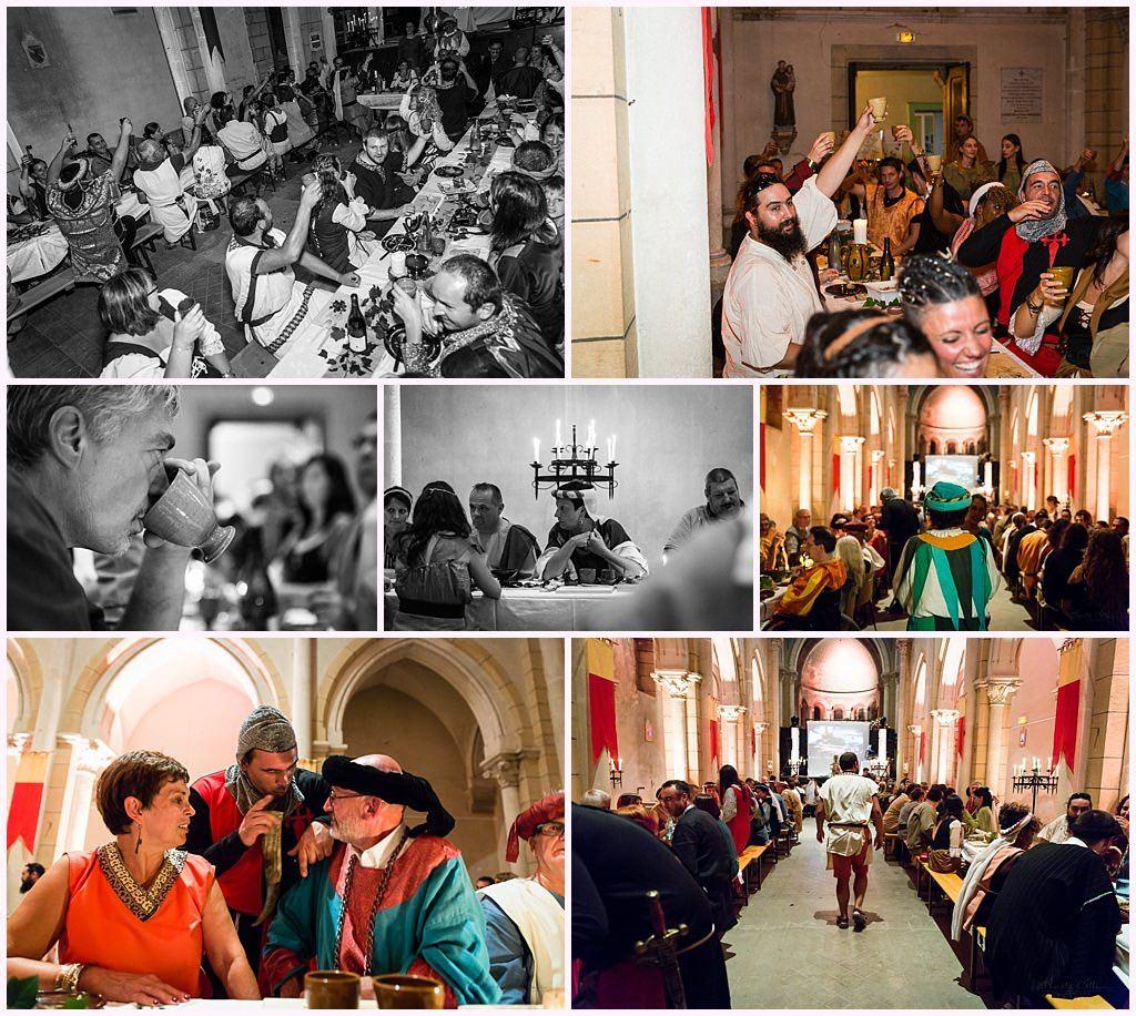 banquet mariage medieval nozeroy photographe aurelie allanic
