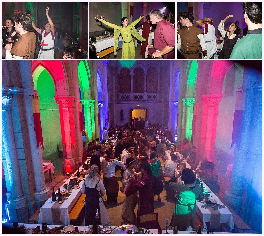 soirée mariage médiéval chapelle désacralisée nozeroy