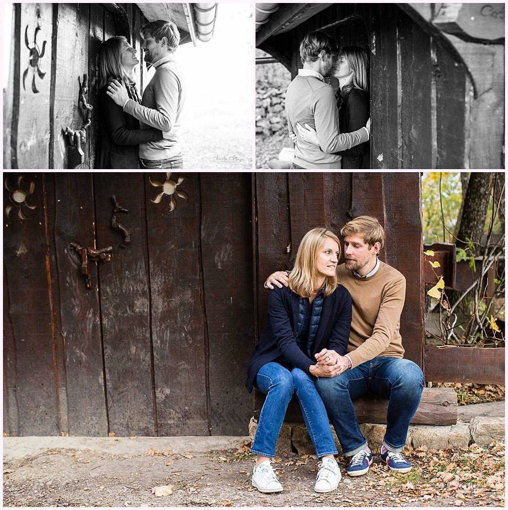 photos amoureux cabane