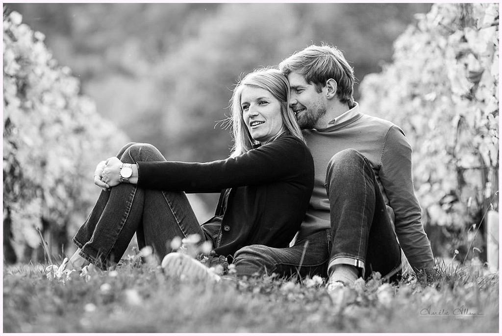 photos amoureux automne vignes