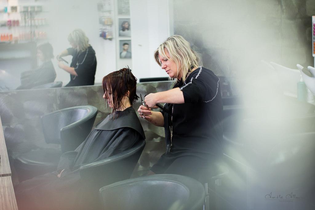 reportage métier coiffeur
